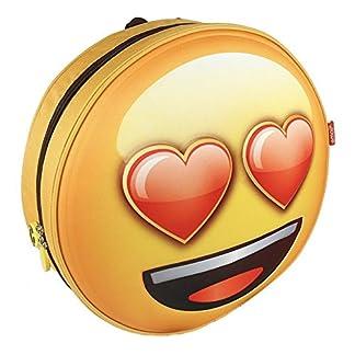 Emoji Mochila Infantil Enamorado con Relieve 28x28x9 cm