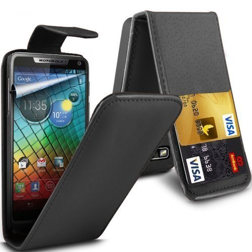 deet-tm655-black-motorola-razr-i-xt890-pu-leather-flip-case-cover-with-credit-card-slot-and-lcd-scre