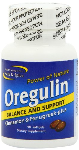 North American Herb and Spice, Oregulin Gel-Capsules, 90-Count