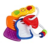 #9: Ole Baby BPA Free Tooth Gel Silicone Soothers Baby Teether Rattle Toy Colourful Activity Toys Keys