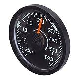 Smart-Planet hochwertiger Innen Thermometer - selbstklebende Befestigung - für z.B. Ihr Auto, Gewächshaus , Sauna , Garage etc.