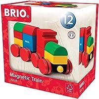 Brio Jouet Premier Age en bois - Train magnétique