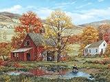 Best White Mountain Friends Puzzle Pieces - White Mountain Puzzles Friends in Autumn - 1000 Review