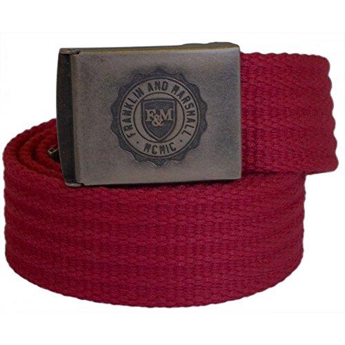 940d77d1049a Franklin   Marshall - Ceinture - Homme Rouge Rouge - Rouge - Taille Unique