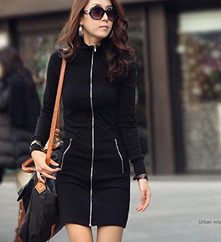 Mytom®–Robe pour femme Noir