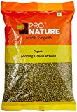 #9: Pro Nature Organic Pulses - Moong Green Whole, 500g Pouch