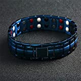Joyevic Women Bracelet's Magnetic Healing Therapy Medical energy bracelet multiplied by a magnet and germanium stone to get r