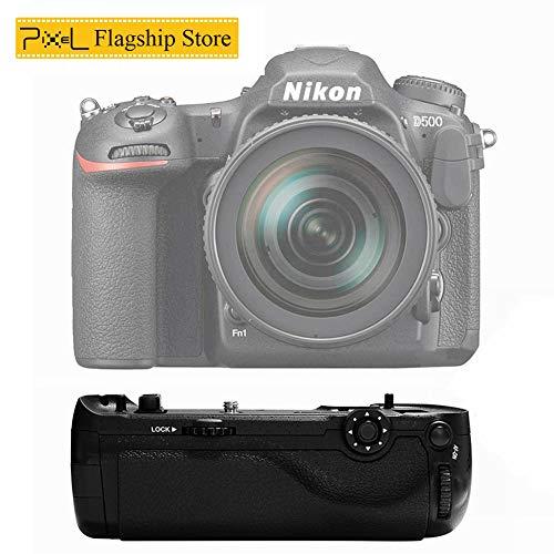 Pixel Vertax D17 Professioneller Multifunktions-Batteriehandgriff für Nikon D500 (Ersatz für Nikon MB-D17)
