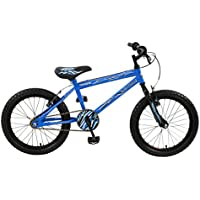 Townsend Boy Lightning Mountain Bike, Blue/Black, 18-Inch