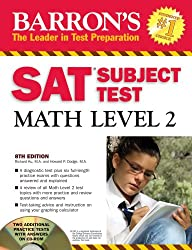 Barron's SAT Subject Test Math Level 2 [With CDROM] (Barron's SAT Subject Test Math Level 2 (W/CD))