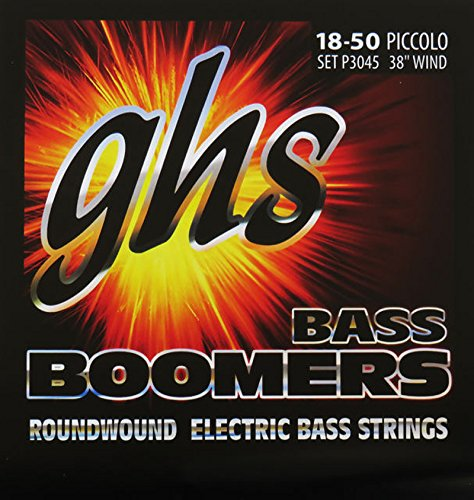 GHS P3045 Bass Boomers Piccolo Bass, 38