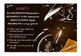 Screenix SI410015 Motorradreinigungstücher (Motorradglanz) (15-er Pack)