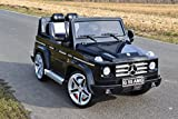 SL Lifestyle Kinderfahrzeug Elektroauto MERCEDES-BENZ G55 EVA-Räder Einsitzer Originallizenz Kinderauto mit Fernbedienung 12V , USB,Radio