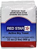 Red Star Yeast Red Star Nutritional Active High Volume Dry Yeast, 2 Pound -- 6 per case