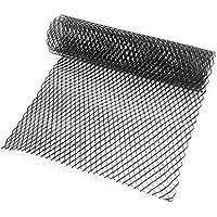 zantec 10 x 20 mm coche parrilla rejilla de ventilación de malla de aleación de aluminio