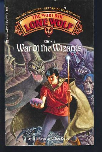 War of the Wizards (The World of Lone Wolf, Book 4)