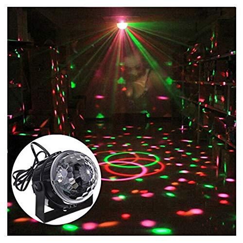 Schwarz Effect Magic Für Hochzeit Disco Caxmtu Dj Party Kristall Licht V Rgb 110–240 Led Bühnenbeleuchtung Mini Club Ball byvmIYf76g