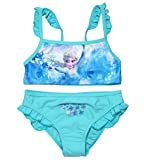 Frozen Bikini Bademode Die Eiskönigin 2018 Kollektion 98 104 110 116 122 128 Neu Völlig Unverfroren Elsa Shiny Effekt Blau (104 - 110; Prime)