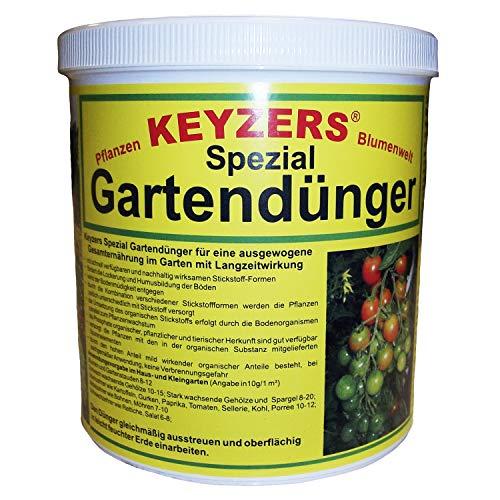Keyzers Spezial- Gartendünger mit Langzeitwirkung 1,0 KG