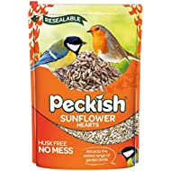 Peckish Sunflower Hearts for Wild Birds, 2 kg