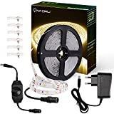 Onforu 10M Regulable Tiras LED, 600 LEDs 2835 SMD, Blanco Cálido 3000K Tira LED de Luces Kit,...