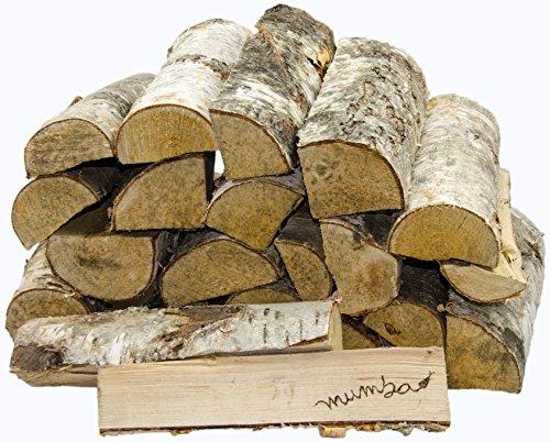*15 KG mumba-Kaminholz * BIRKE * Feuerholz Restfeuchte ca. 20% getrocknet*