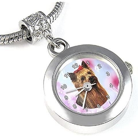 Yorkshire Terrier reloj para el collar o pulsera