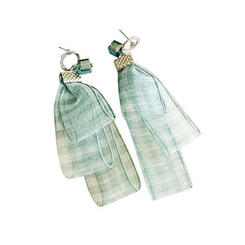 1 paire boucles d'oreilles classiques boucles d'oreilles assorties pour vous, vert