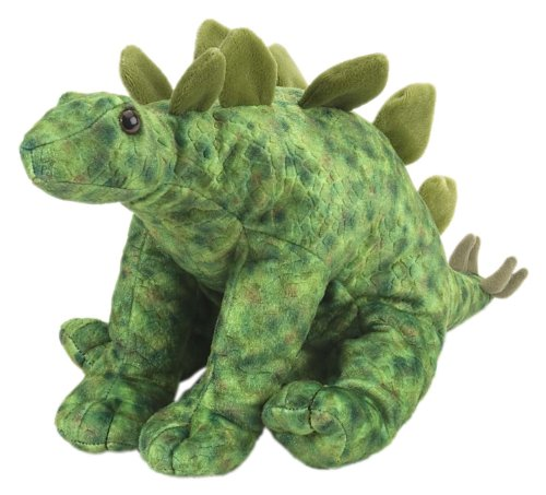 "Wild Republic Soft Toys Wild Republic Cuddlekins Stegosaurus 12"""