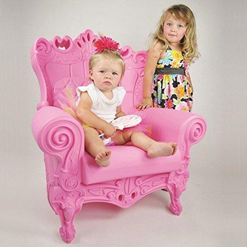 Design of Love – Slide Design – Little Queen of Love Baby armchair Dove grey
