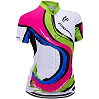 6f33124b0a09f ELEAR ZEROBIKE® Women s Short Sleeve Cycling Jersey Jacket Cycling Shirt  Quick Dry Breathable Mountain Clothing