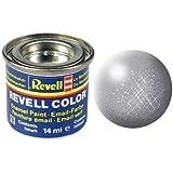 Peinture émail Revell gris fer métallisé