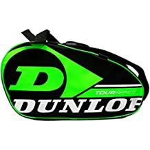 Paletero de pádel Dunlop Tour Intro Negro / Verde Flúor