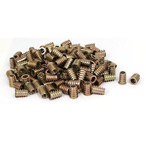 DealMux M10 x 25 mm six pans creux Insérer les vis e-dadi meubles Raccords 200pcs