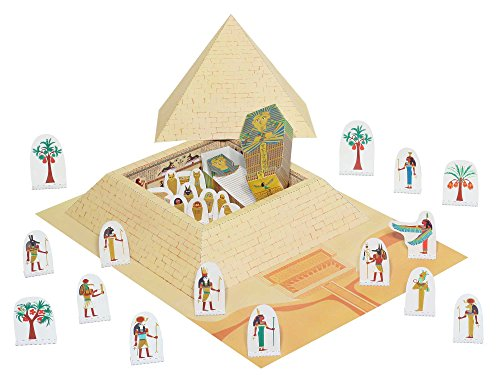 e & Mumie - Bastelvorlage & Bastelideen für Jungs / Mädchen - Forum Traiani - Bastelbogen aus Papier selber basteln beim Kindergeburtstag (Das Alte ägypten-spielzeug)