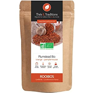 Thés & Traditions - Plumstead : un rooibos saveur orange - pamplemousse | 100g
