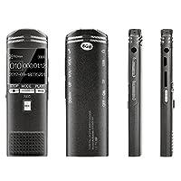 Description: Nom du produit: Enregistreur d'enregistrement vocal X28 noir Type de produit: X-28 Couleur du produit: Noir Matériel: alliage de zinc Poids net: 76g Poids brut: 200g Taille du produit: 11 * 34 * 100mm Batterie intégrée: 300mAh Réponse vo...