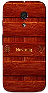 Aakrti Back cover With Wood design Printed For Smart Phone Model : Letv Le Max2 .Name Navrang (Beautiful ) Will be replaced with Your desired Name