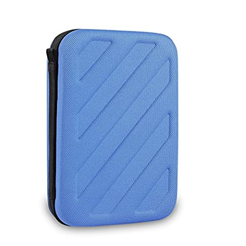 BUBM Nintendo NEW 3DS XL / New 2DS XL Tasche, Keten Schutz-Hülle Kunststoff Hard Shell Cover Reise-Set Zubehör-Etui für Nintendo Konsole & Accessoires