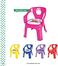 Baby Musical Apple Baby Chair -Red by Little pearlz store