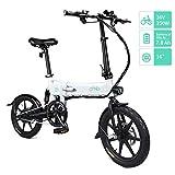 Fiido D2 Ebike, Bicicletta elettrica Pieghevole con Luce Anteriore a LED per Adulti,...