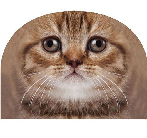 Mars & More JIFCTMTG Kaffeewärmer getigerte Katze - Kaffeemütze Teewärmer Kannenwärmer