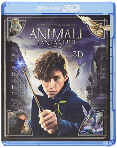 Foto Animali Fantastici e Dove Trovarli (Blu-Ray 3D);Fantastic Beasts And Where To Find Them
