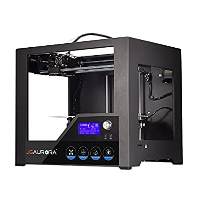 JGAURORA 3d Printer Desktop FDM 3d Printers, Metal Frame with Professional High Resolution by GAOWEI