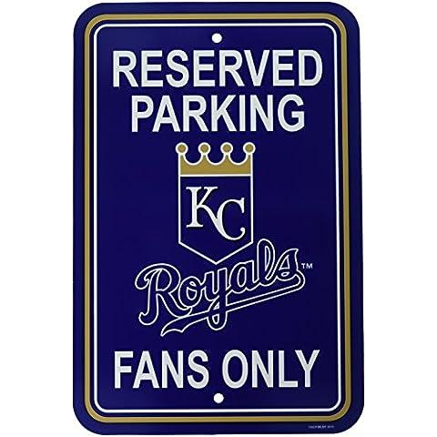 MLB Kansas City Royals Plastic Parking Sign
