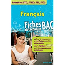 Français 1res Bacs STG, STI2D, STL et ST2S