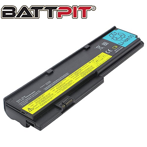 Battpit Laptop Akku für Lenovo 42T4536 42T4648 42T4649 42T4837 47T4647 ThinkPad X200 X200s X200si X201 X201i - [6 Zellen/4400mAh/48Wh]