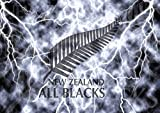 Poster All Blacks Rugby Logo Wall Art...