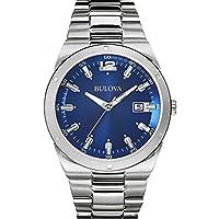Reloj cuarzo Bulova Para Hombre Con Azul Analogico Y Plata acero inoxidable 96B220 de Bulova