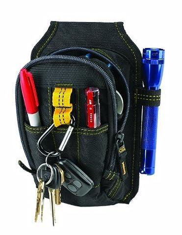 Custom Leathercraft 1504 Multi-Purpose Carry-All Tool Pouch, 9-Pocket by Custom Leathercraft